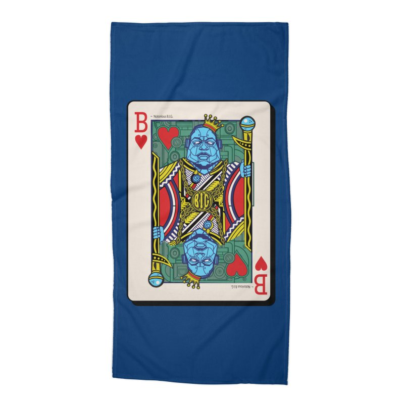 Notorious Accessories Beach Towel by Jesse Philips' Artist Shop