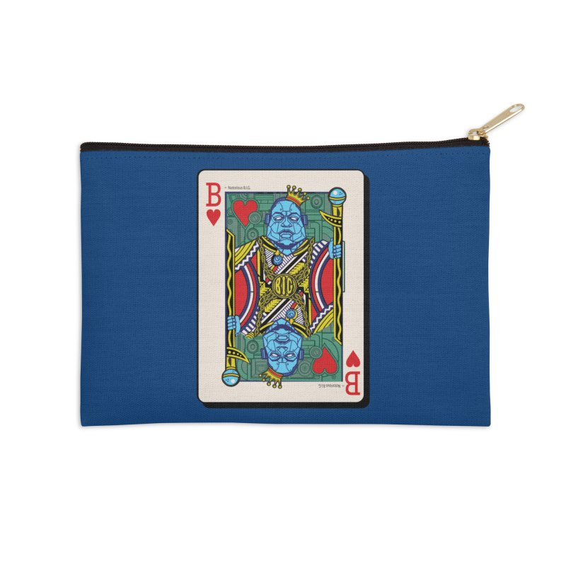 Notorious Accessories Zip Pouch by Jesse Philips' Artist Shop