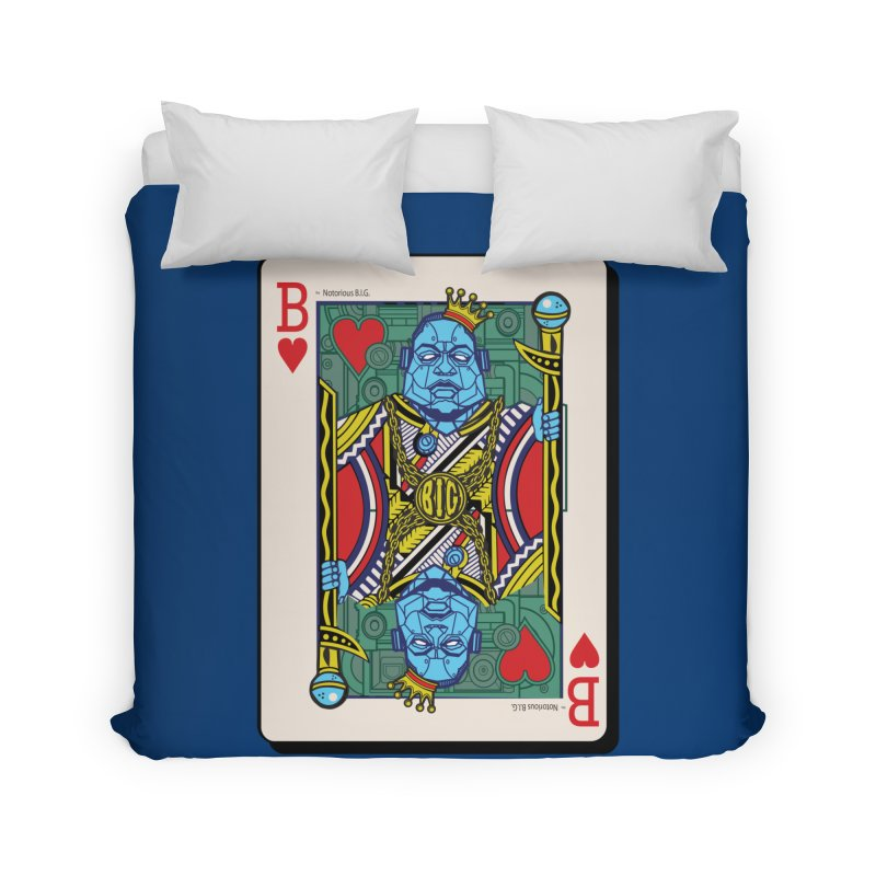Notorious Home Duvet by Jesse Philips' Artist Shop