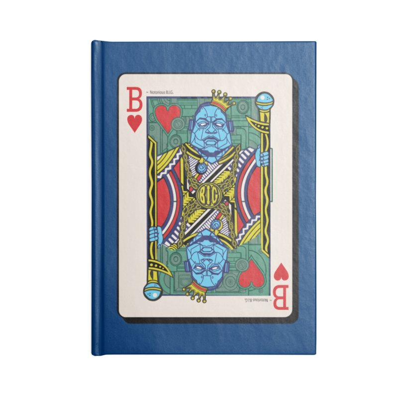 Notorious Accessories Lined Journal Notebook by Jesse Philips' Artist Shop