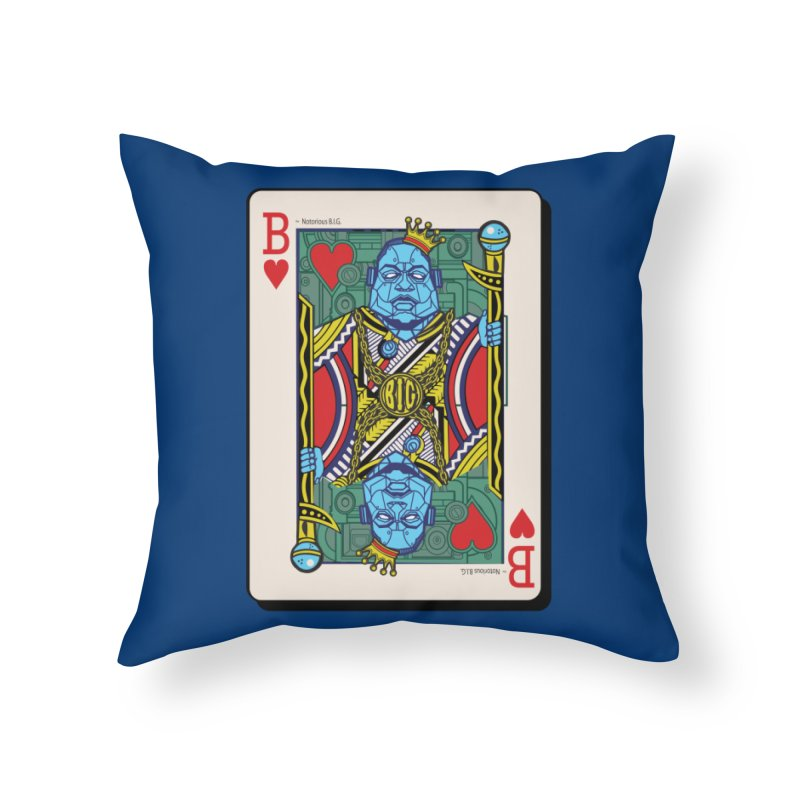 Notorious Home Throw Pillow by Jesse Philips' Artist Shop