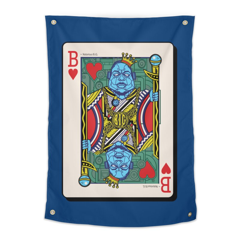 Notorious Home Tapestry by Jesse Philips' Artist Shop