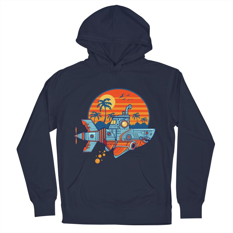 ROBOSHARK  Men's Pullover Hoody by Jesse Philips' Artist Shop