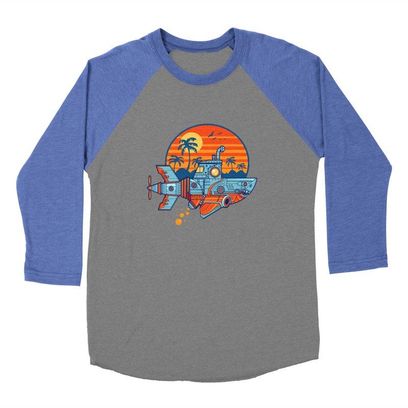 ROBOSHARK  Women's Longsleeve T-Shirt by Jesse Philips' Artist Shop