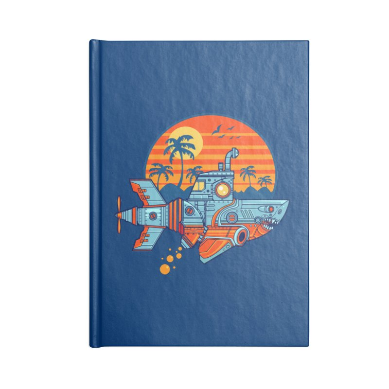 ROBOSHARK  Accessories Lined Journal Notebook by Jesse Philips' Artist Shop
