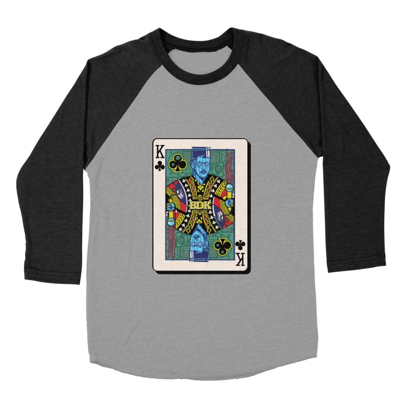 Big Daddy Men's Baseball Triblend Longsleeve T-Shirt by Jesse Philips' Artist Shop