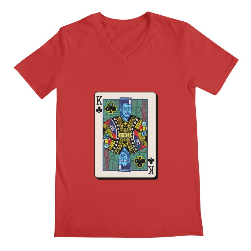 Big Daddy Men's Regular V-Neck by Jesse Philips' Artist Shop