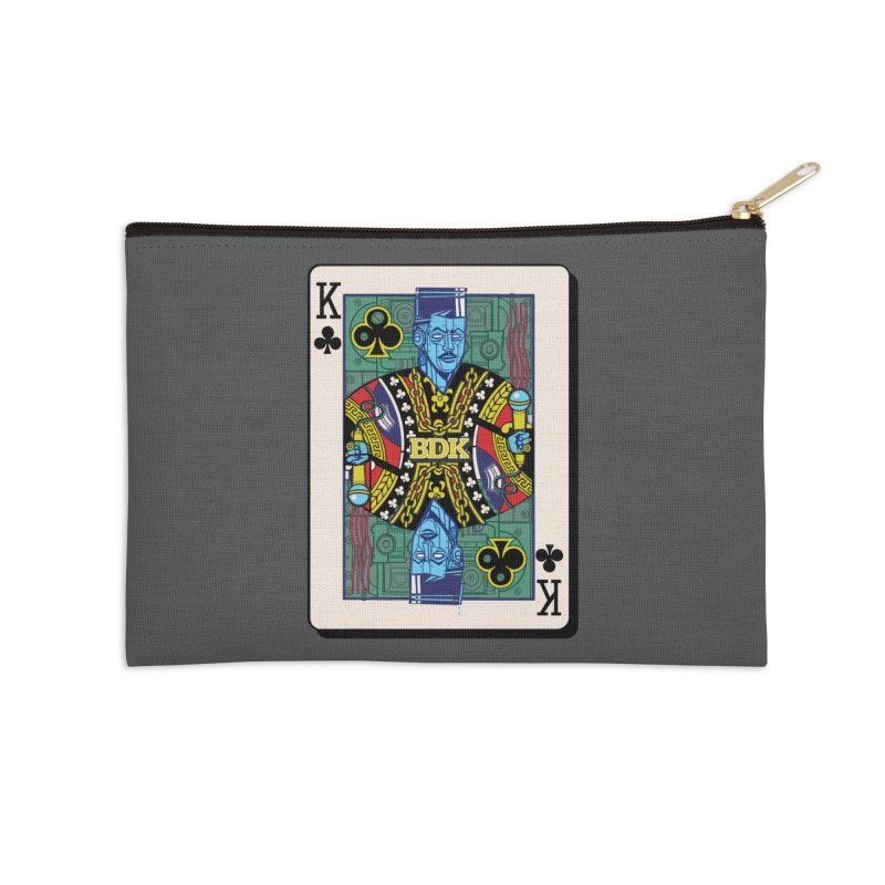 Big Daddy Accessories Zip Pouch by Jesse Philips' Artist Shop