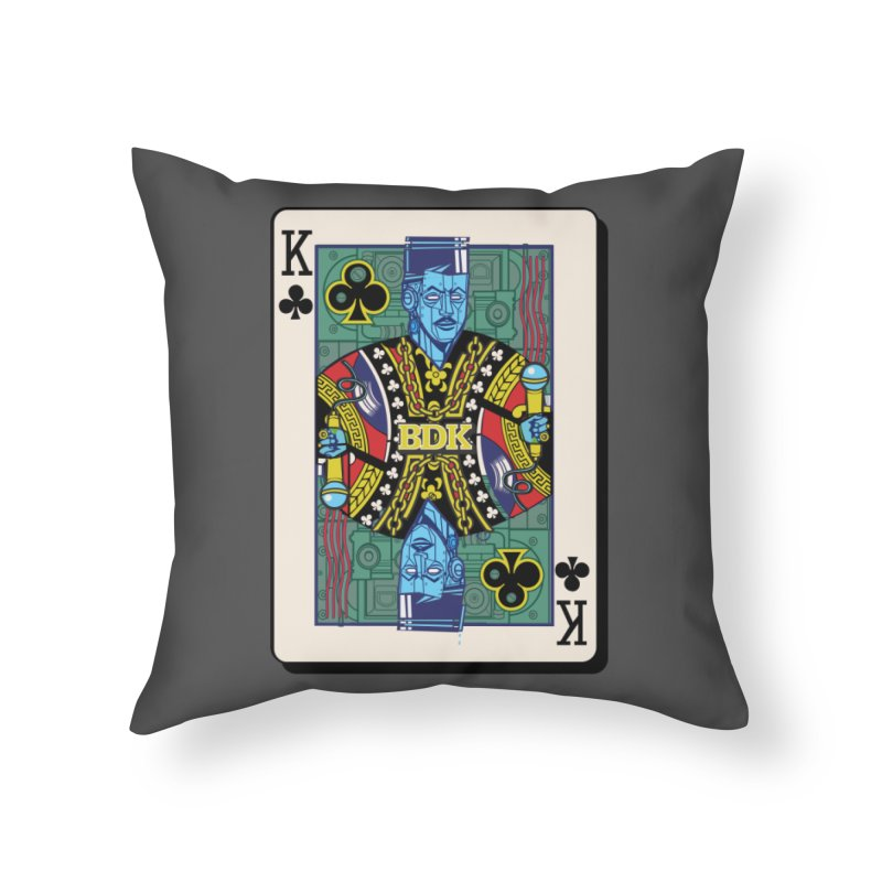 Big Daddy Home Throw Pillow by Jesse Philips' Artist Shop