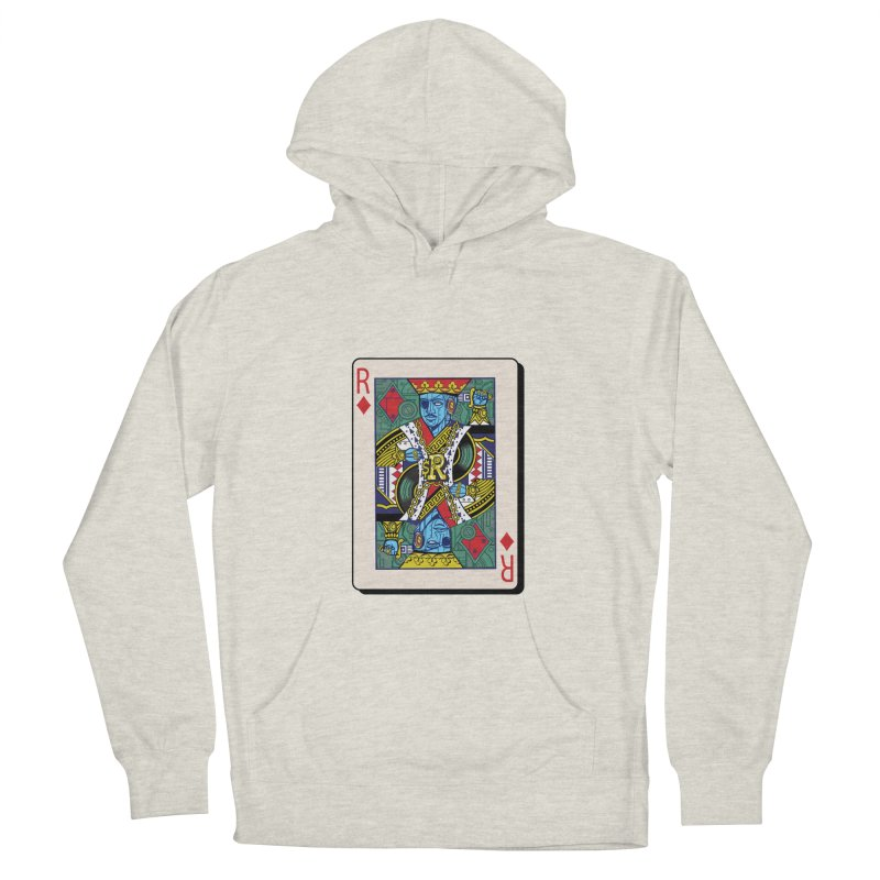 The Ruler Men's French Terry Pullover Hoody by Jesse Philips' Artist Shop