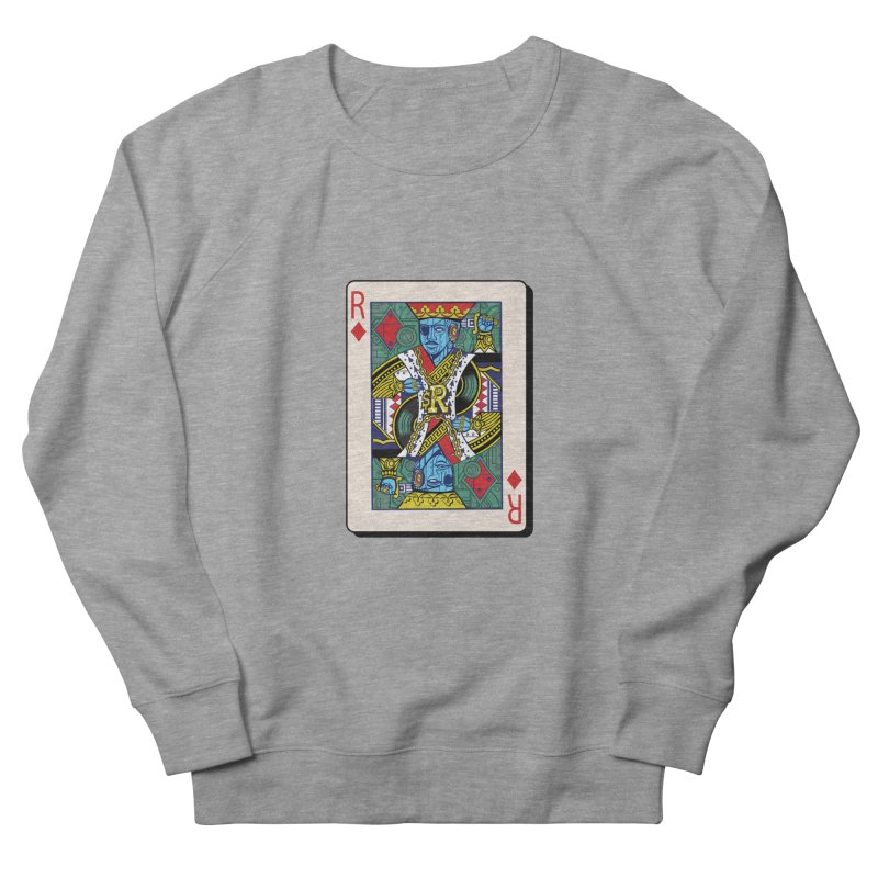 The Ruler Men's French Terry Sweatshirt by Jesse Philips' Artist Shop