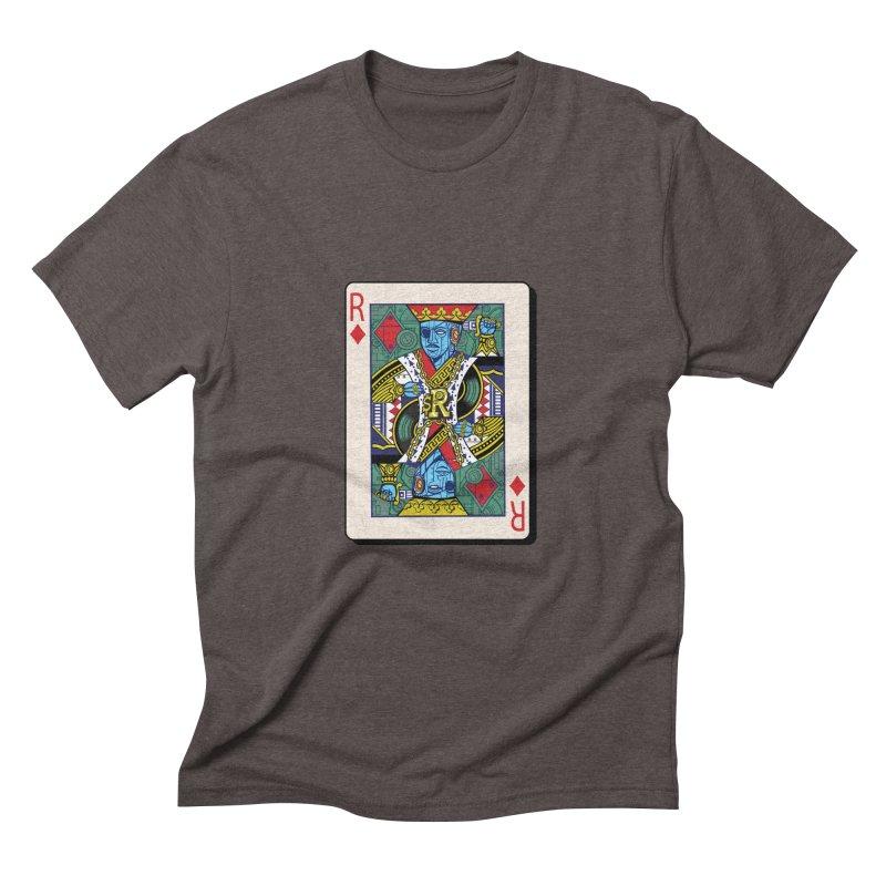 The Ruler Men's Triblend T-Shirt by Jesse Philips' Artist Shop