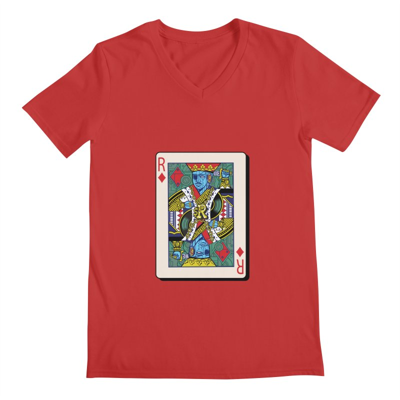 The Ruler Men's V-Neck by Jesse Philips' Artist Shop