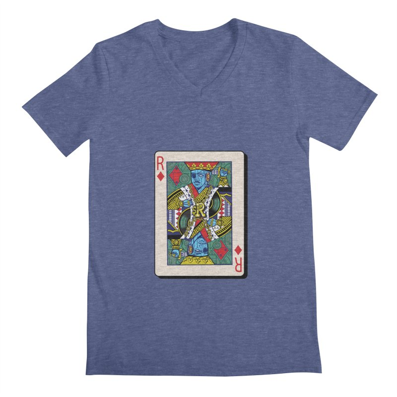 The Ruler Men's Regular V-Neck by Jesse Philips' Artist Shop