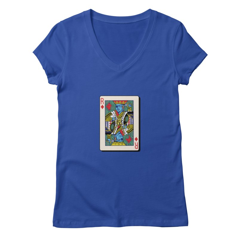 The Ruler Women's V-Neck by Jesse Philips' Artist Shop