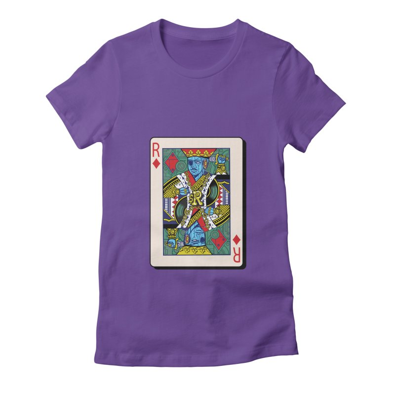 The Ruler Women's Fitted T-Shirt by Jesse Philips' Artist Shop