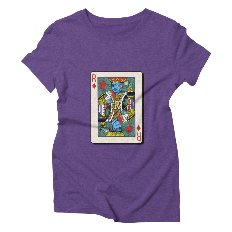 The Ruler Women's Triblend T-Shirt by Jesse Philips' Artist Shop