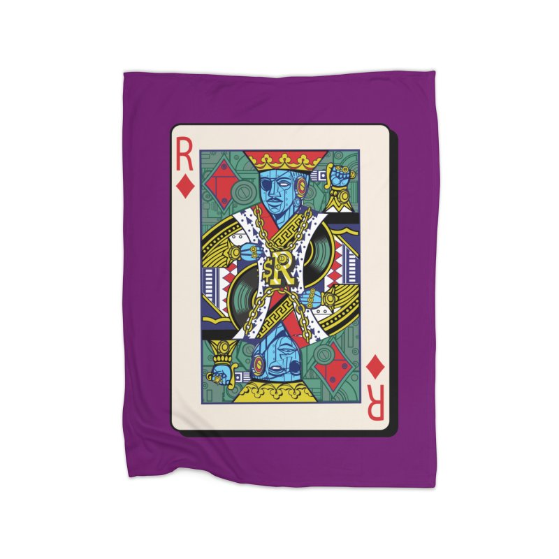 The Ruler Home Fleece Blanket Blanket by Jesse Philips' Artist Shop