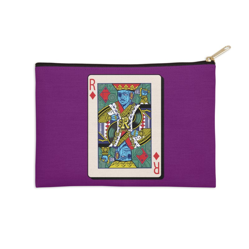 The Ruler Accessories Zip Pouch by Jesse Philips' Artist Shop