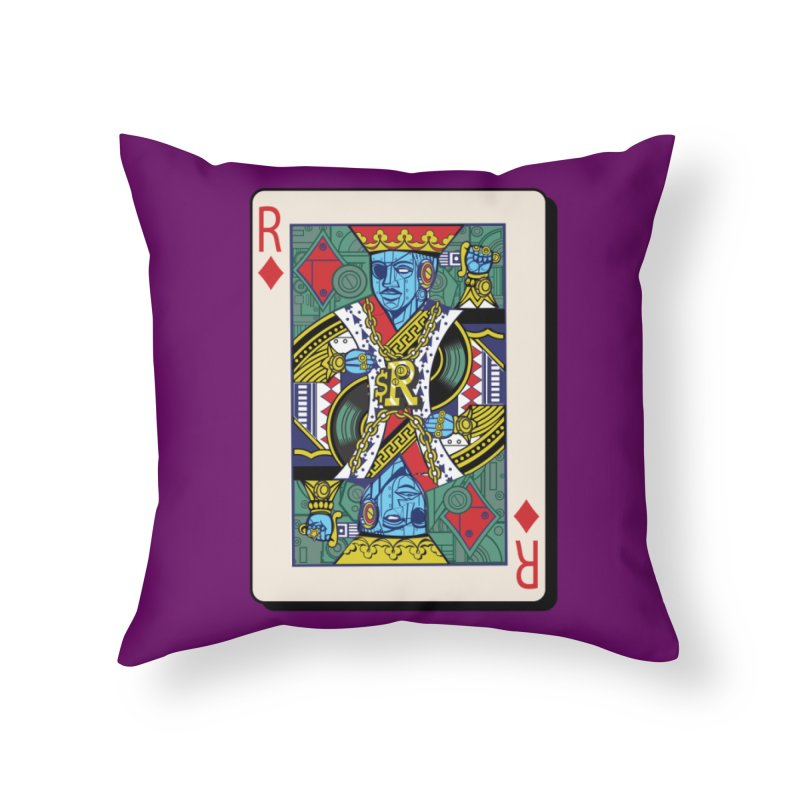 The Ruler Home Throw Pillow by Jesse Philips' Artist Shop