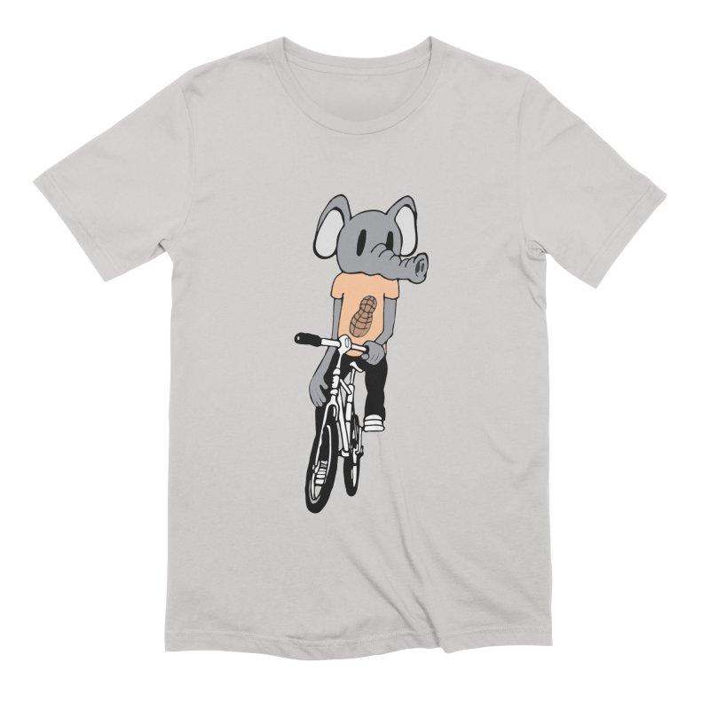 Kawaii Ride Men's Extra Soft T-Shirt by Jesse Quam