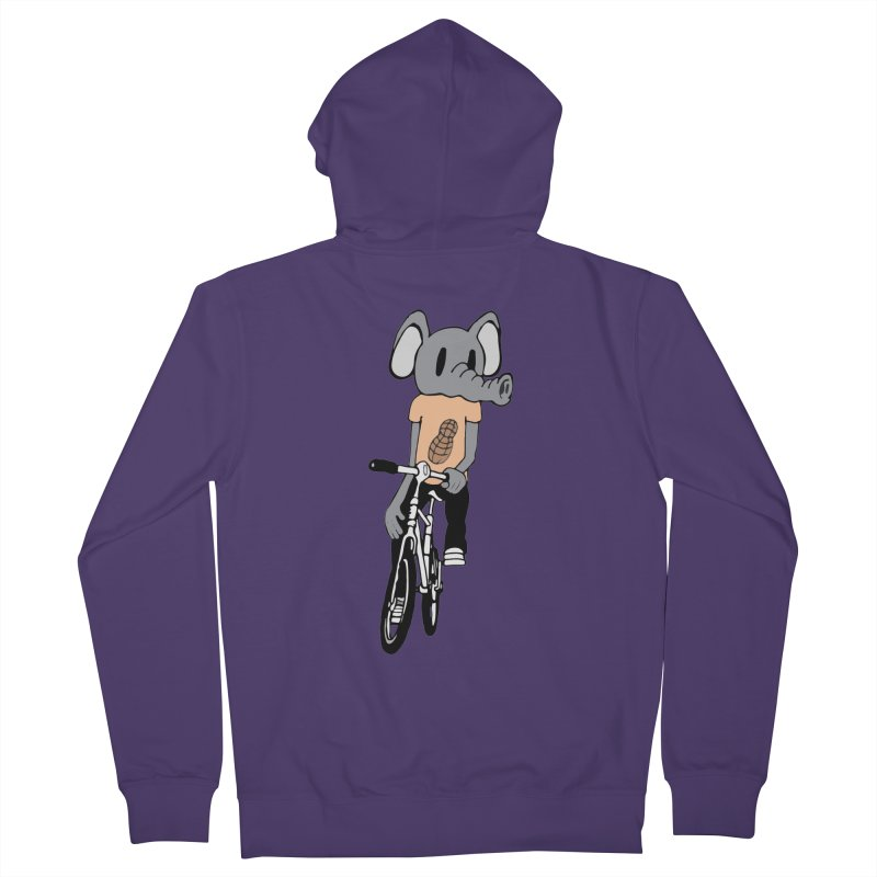 Kawaii Ride Women's French Terry Zip-Up Hoody by Jesse Quam