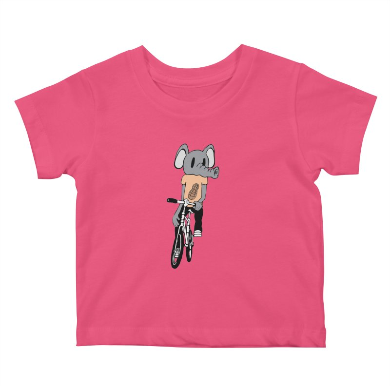 Kawaii Ride Kids Baby T-Shirt by Jesse Quam