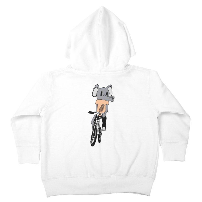 Kawaii Ride Kids Toddler Zip-Up Hoody by Jesse Quam