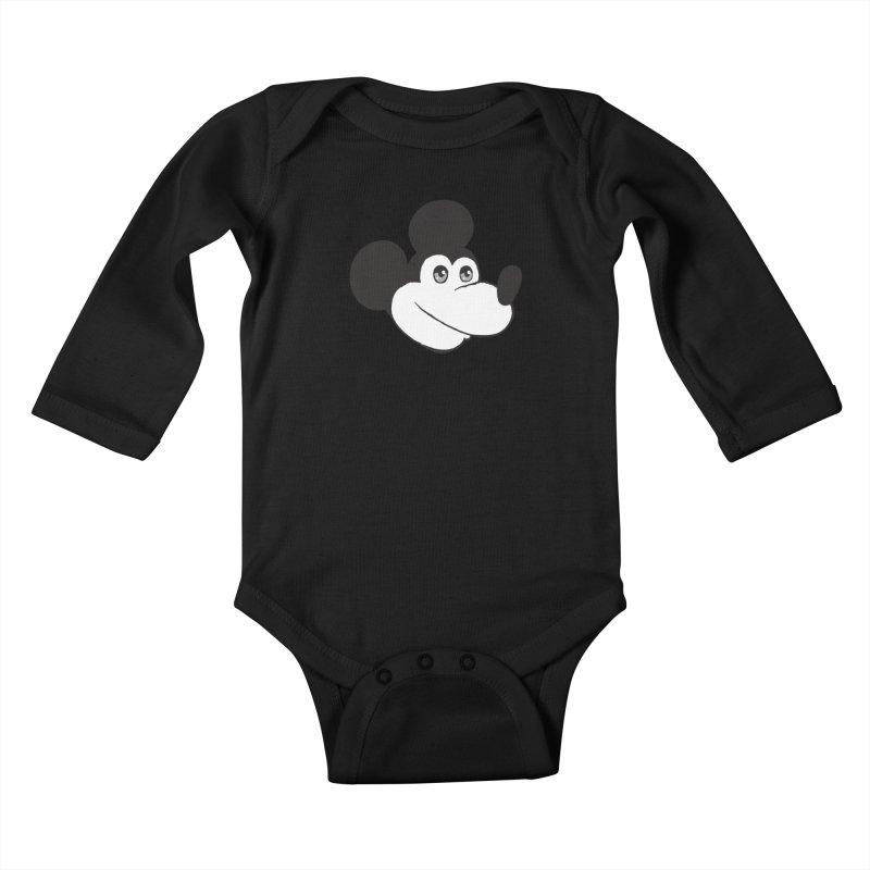 Kawaii Quam Kids Baby Longsleeve Bodysuit by Jesse Quam