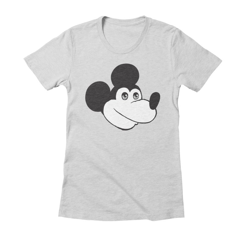 Kawaii Quam Women's Fitted T-Shirt by Jesse Quam