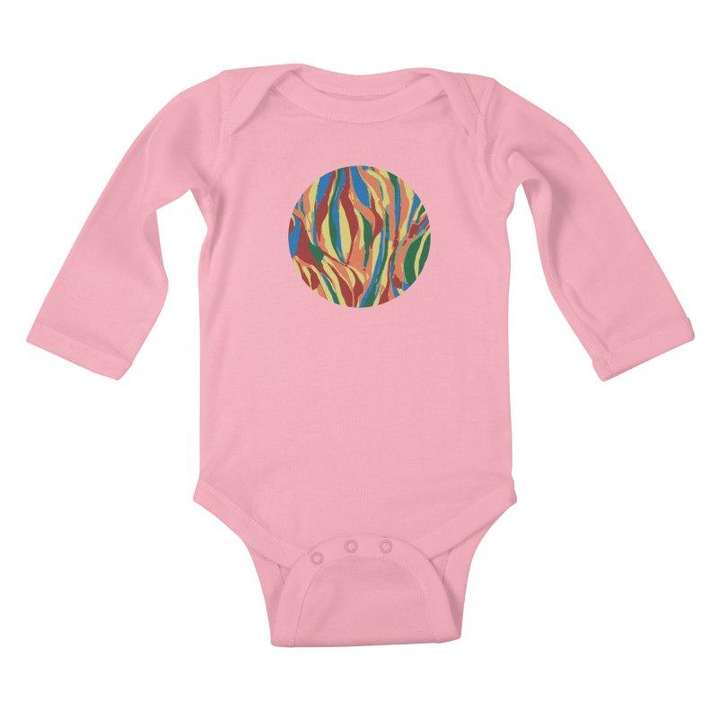 Homegrown Kids Baby Longsleeve Bodysuit by Jesse Quam