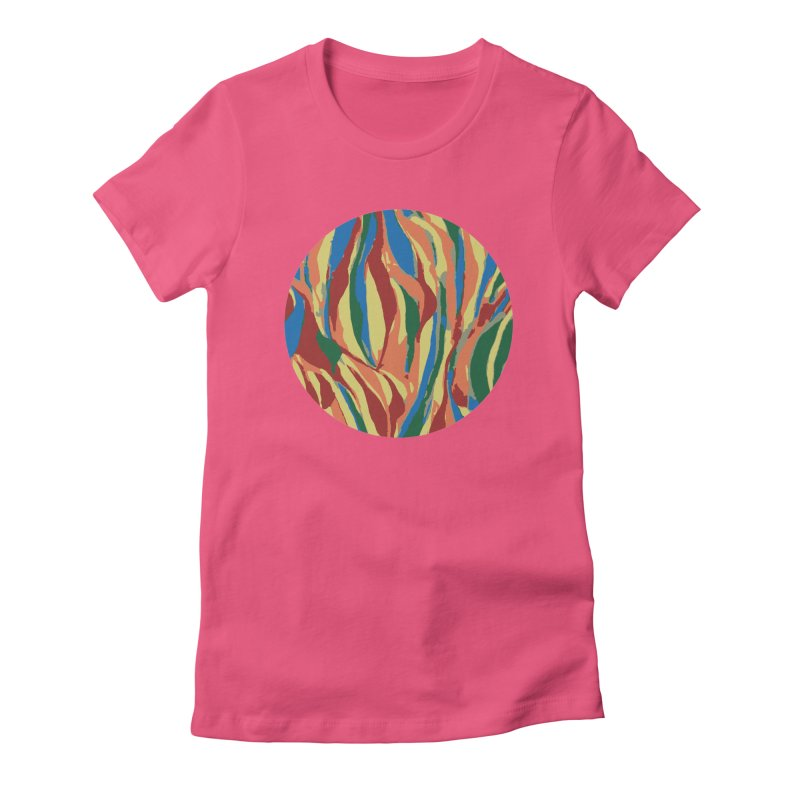 Homegrown Women's Fitted T-Shirt by Jesse Quam