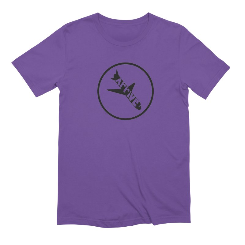 Arrive Men's Extra Soft T-Shirt by Jesse Quam