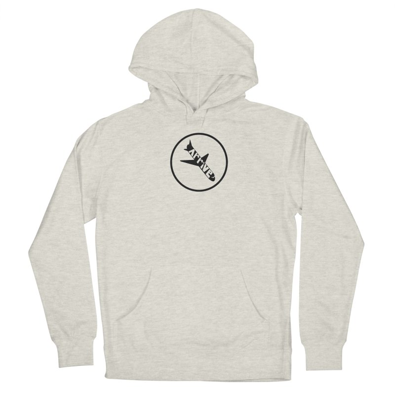 Arrive Men's French Terry Pullover Hoody by Jesse Quam