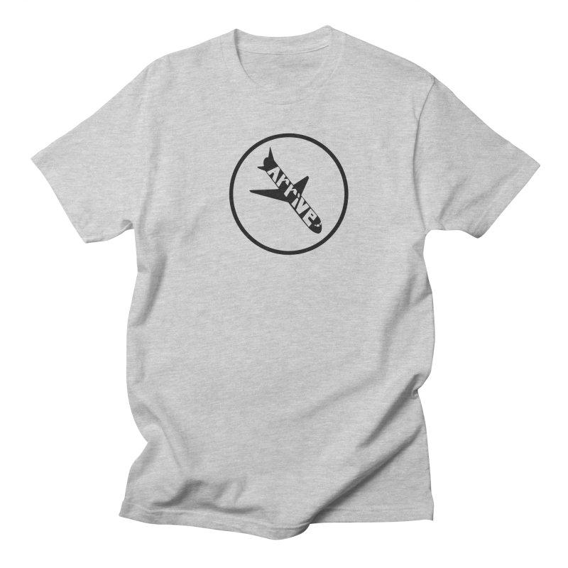 Arrive Men's Regular T-Shirt by Jesse Quam