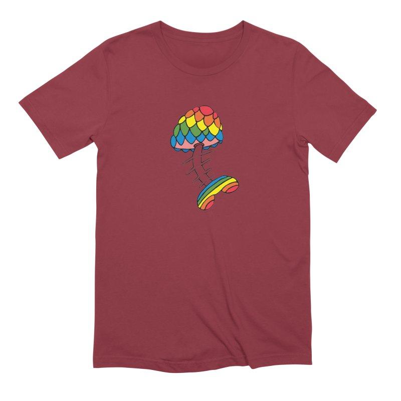 Fun Undone Men's Extra Soft T-Shirt by Jesse Quam