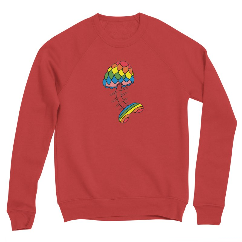 Fun Undone Men's Sponge Fleece Sweatshirt by Jesse Quam