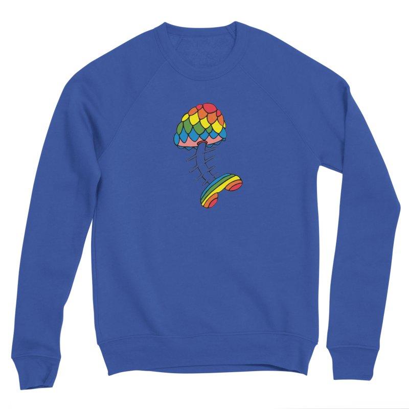 Fun Undone Women's Sponge Fleece Sweatshirt by Jesse Quam