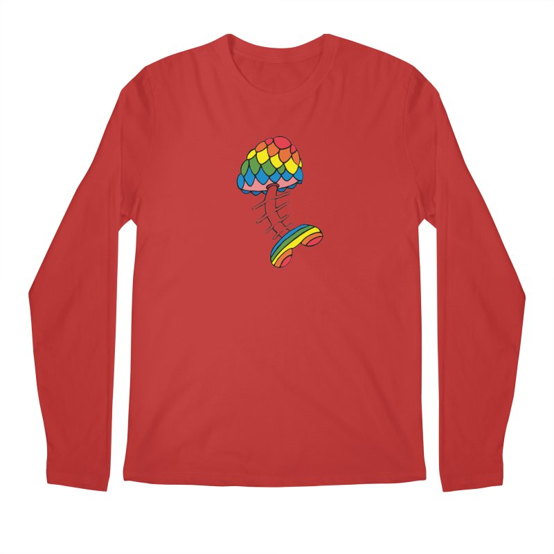 Fun Undone Men's Regular Longsleeve T-Shirt by Jesse Quam