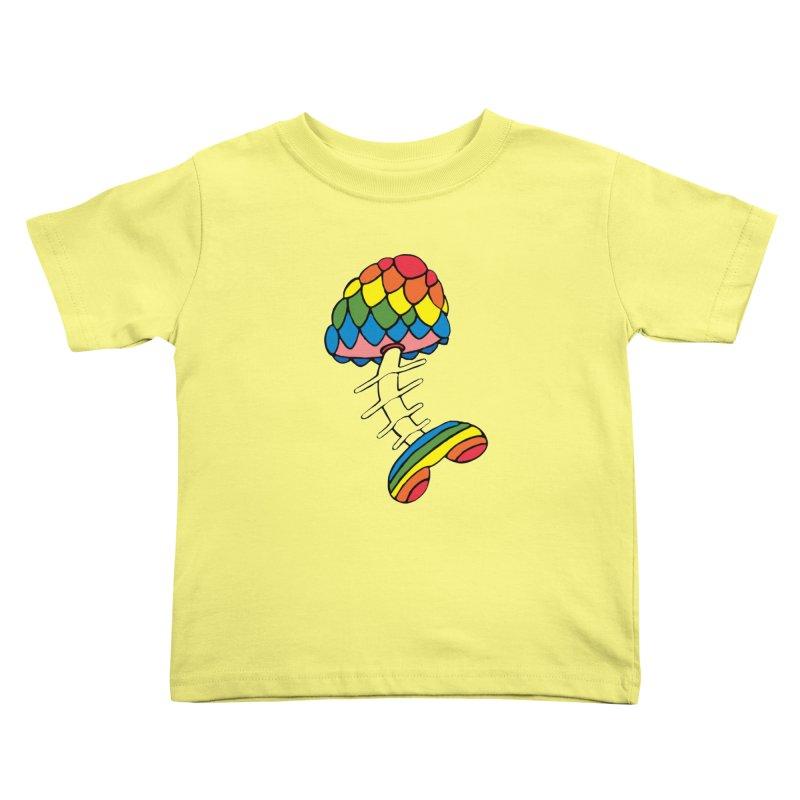 Fun Undone Kids Toddler T-Shirt by Jesse Quam