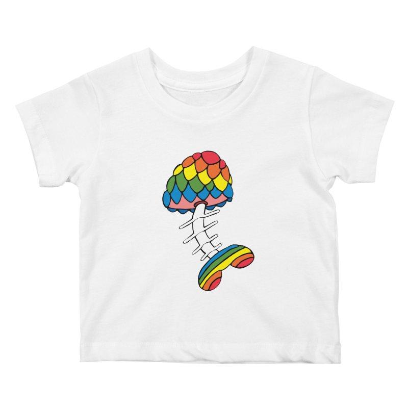 Fun Undone Kids Baby T-Shirt by Jesse Quam
