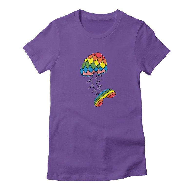 Fun Undone Women's Fitted T-Shirt by Jesse Quam