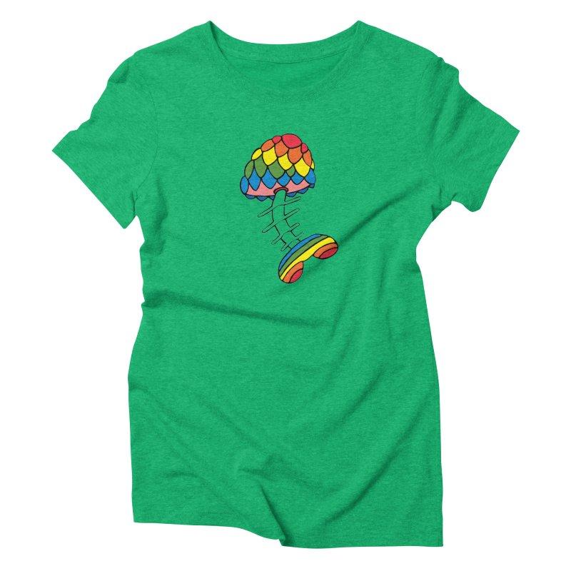 Fun Undone Women's Triblend T-Shirt by Jesse Quam