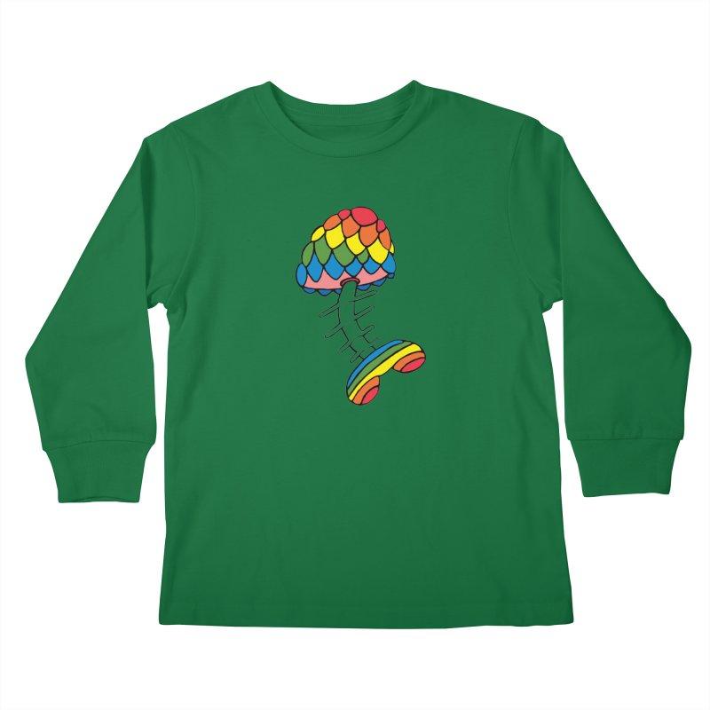 Fun Undone Kids Longsleeve T-Shirt by Jesse Quam