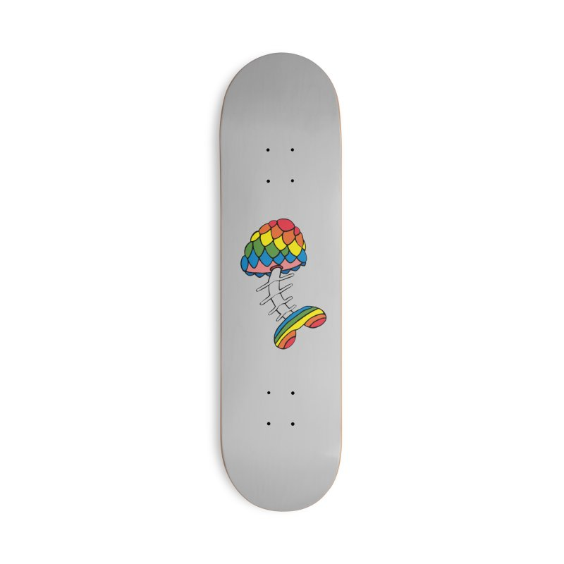 Fun Undone Accessories Deck Only Skateboard by Jesse Quam