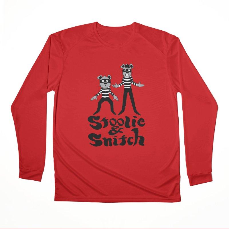 Stoolie & Snitch Men's Performance Longsleeve T-Shirt by Jesse Quam