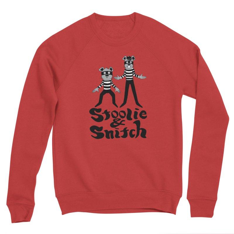 Stoolie & Snitch Men's Sponge Fleece Sweatshirt by Jesse Quam