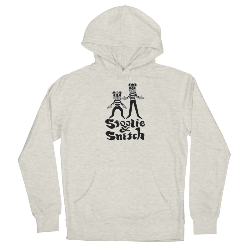 Stoolie & Snitch Men's French Terry Pullover Hoody by Jesse Quam