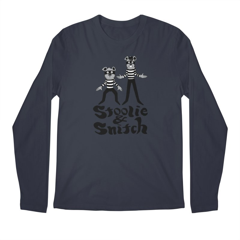 Stoolie & Snitch Men's Regular Longsleeve T-Shirt by Jesse Quam