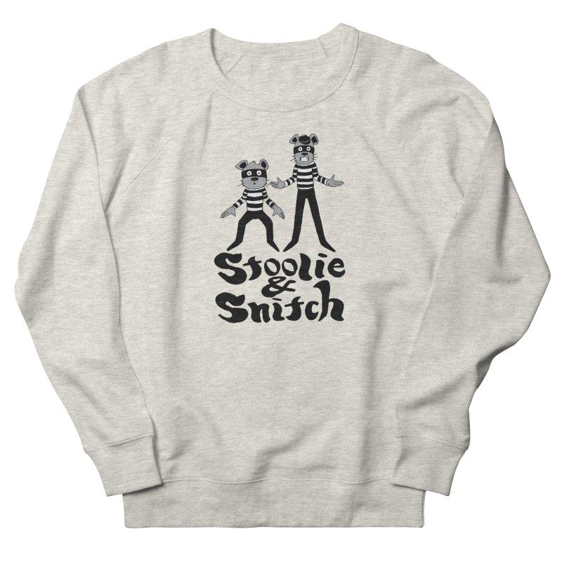 Stoolie & Snitch Men's French Terry Sweatshirt by Jesse Quam